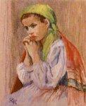 Krystyna Kościelniakowska - Dziewczyna w zielonej chuście