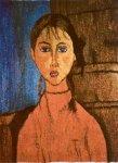 Małgorzata Borkowska - Dziewczynka z warkoczykami